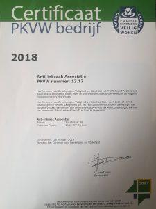 Politiekeurmerk certificaat Slotenservice Amsterdam